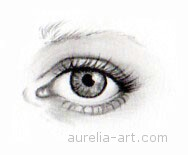 Art - Tutorial - How to draw an eye - Step 7